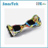 Smartek der meiste populäre Farben-Zeichnung E-Roller zwei Rad-Arbeitsweg-Skateboard-Mobilität Hoverboard elektrische Roller Patinete Electrico mit Bluetooth Lautsprecher S-002