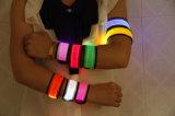 Im Freien LED Klaps-Armband der Form-, dasled-Armbinde laufen lässt