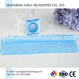 Полотенце голубого цвета Compressed волшебное