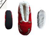 3つのカラー女性の刺繍された屋内靴(RY-SL1621)
