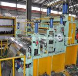 Elevada precisão que corta a linha de estaca máquina para a placa de aço