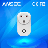 Potencia eléctrica WiFi Enchufes Enchufes EU / UK / EE.UU. / inteligente en zócalo