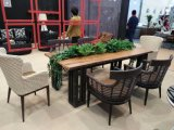Im Freienspeisen und Sofa-Schnittpatio-Rattan-Möbel-Set
