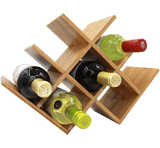 Aménagement en bois de vin de crémaillère de vin de 8 bouteilles pour la maison