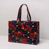 Extra BloemenDame Handbag van de Zakken van pvc van de Grootte Waterdichte Winkelende (t042-2)