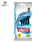 Het Beschikbare het Scheren van 3 Blad van Goodmax Scheermes Van uitstekende kwaliteit met de Strook van de Smering, Gelijkaardig Model aan Gillette (SL-3035TL)