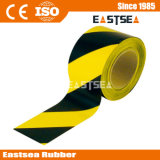 黒くおよび黄色の構築の地下安全注意テープ(CT-75)