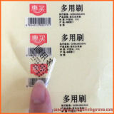 Etiqueta engomada impermeable directa del pegamento del claro del vinilo del PVC de Facotry