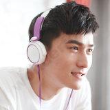 para Sony-Xb400 a linha controle Fone de ouvido-Roxo