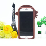 3D Hoed van het Beeldverhaal draagt Koffer draagt het Geval van het Silicone voor iPhone 6 6plus 7 7plus