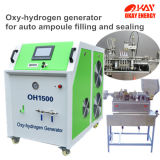 Máquina Oxyhydrogen automática da fabricação da ampola de vidro do gás