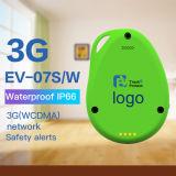 Отслежыватель водоустойчивое Ipx5 GPS детей миниый с падает вниз бдительный GPS отслеживая приспособление