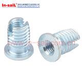 中国の締める物の製造者の自動叩くインストール糸の挿入ナットの製造業者