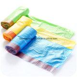 Accettare il sacchetto di rifiuti di plastica dell'immondizia di ordine su ordinazione con il Drawstring