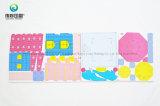 3D 스티커를 인쇄하는 주문을 받아서 만들어진 아이 레이블 종이