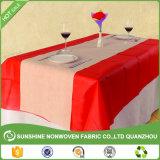 中国からなされるテーブルクロスの非編まれたファブリック絵画デザイン