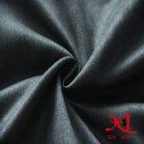 衣服または服のための暗い灰色の方法100%年のポリエステルスエードファブリック