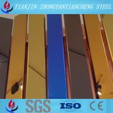 304 strati standard variopinti dell'acciaio inossidabile dello strato dell'acciaio inossidabile di ASTM