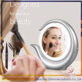2017 Aangestoken Spiegel Populaire LEIDENE van de Van uitstekende kwaliteit van de Make-up van de Desktop de Dubbele Make-up van Kanten 1X/7X