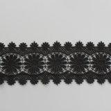 Утеска для Apparel-09, ткань шнурка способа химически шнурка гипюра Китая, ткань шнурка хлопка красивейшего платья материальная