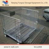 Jaula de metal / almacenamiento de malla de alambre jaulas de contenedores