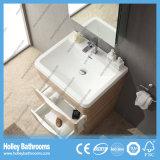 Muebles modernos especiales del cuarto de baño con 2 cajones y cabinas del espejo (BF366D)
