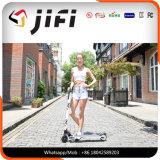 5 pulgadas folderable kick scooter eléctrico con luz LED