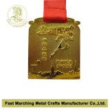 Medalhista de prata com projeto da forma