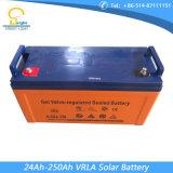 luzes de rua solares do diodo emissor de luz 60W de 8m com cair da bateria no Pólo
