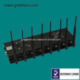 3G 4G WiFi Bluetooth Télécommande 173MHz Lojack Signal Jammer (GW-JC8)