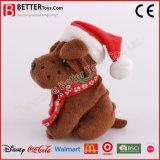 크리스마스 선물 박제 동물 장난감 연약한 개 견면 벨벳 개 장난감
