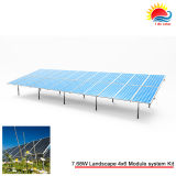 Défilement ligne par ligne portatif de support de parking de panneau solaire (GD911)