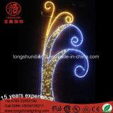 LED 220V imprägniern Motiv-2D Straßen-feenhafte Beleuchtung für Weihnachten