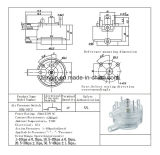 공기 가스의 Kbq-02b 시리즈 압력 스위치