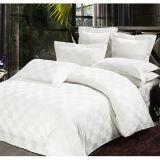 Matéria têxtil 100% do hotel da tela da verificação do cetim do algodão (WS-2016153)