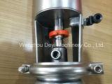 Neumáticos sanitarios desvían la válvula de control del asiento