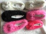 4つのカラー女性の冬の屋内靴