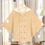 Nuovo Organic Cotton Baby Cloak con Fashion Design From Cina