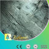 suelo laminado resistente de agua de la haya de la textura de la viruta de 8.3m m