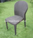 ハンドメイドのPE Rattan Wicker Outdoor Dining ChairおよびTable (BP-3035)