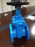 Válvula de puerta de No-Levantamiento del vástago con el lacre de Rubber/EPDM (F4)