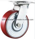 産業Caster、Cast Iron Caster Whelの重義務CasterのPU
