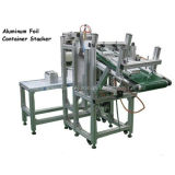De aluminio desechable envase de alimento que hace la máquina