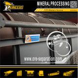 Recuperação móvel pequena do minério do ouro da tela do Trommel que processa a planta da lavagem