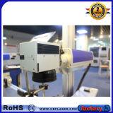Máquina azul do marcador do laser do CO2 10W para o plástico