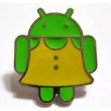 La divisa androide modificada para requisitos particulares rara del Pin de la solapa valida el ODM del OEM