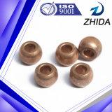 Bucha de esfera de bronze aglomerada elevada precisão personalizada
