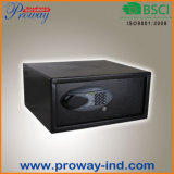 Cofre forte seguro da segurança do furto do cartão de crédito do hotel do portátil com o fechamento, a alta segurança e o resistente de Digitas LCD