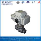 actuador eléctrico de la torque 200nm/400nm/600nm