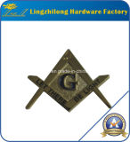Quadrat und Camposs Design Masonic Regalia Badge